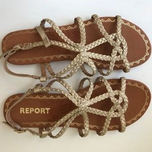 Report sandals Gina slingback strappy New